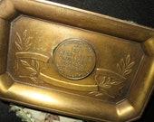 RESERVED Genuine Bronze Cleveland Musical College Souvenir