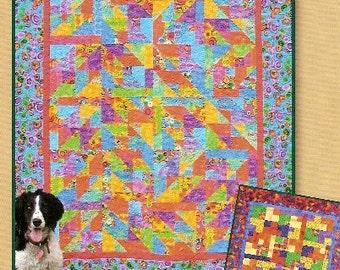 TuttiFrutti Quilt Pattern Fat Quarter Friendly Pine Tree Lodge Designs