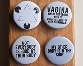 Buttons for Cyborgs