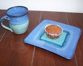Stoneware Mug and Plate Set