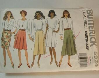 Butterick Classic Skirt Uncut Vintage Pattern