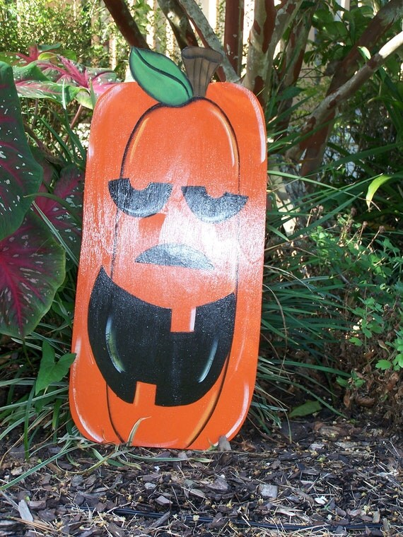 Halloween yard art, yard art, yard decoration, Jack o Lantern , Pumpkin Yard art,  Halloween yard decorations
