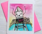 Brooklyn Water Tower - Notecard