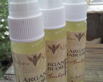 Argan Hair Oil - FRESH AMBER - 1 ounce