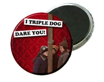 Magnet - A Christmas Story - Triple Dog Dare -Red