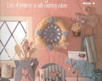 Vintage Macrame Book French Country Kitchen
