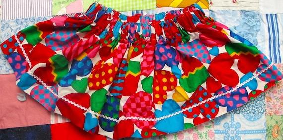Handmade Valentine Skirt 2T-3T