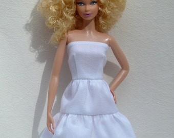 "11.5"" fashion doll birthday party Handmade dresses - for you to decorate"