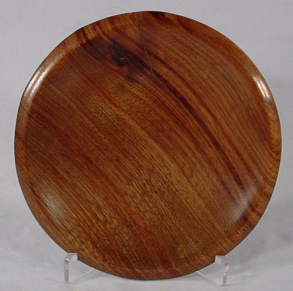Laurel Ring or Coin Dish turned wood bowl number 4635 by Bryan Tyler