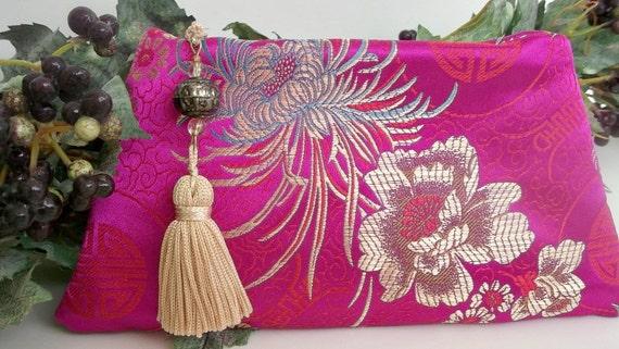 Clutch Purse , Evening Bag , Evening Clutch Bag , Evening Clutch Purse , Pink Clutch Purse , Small Formal Zip Clutch