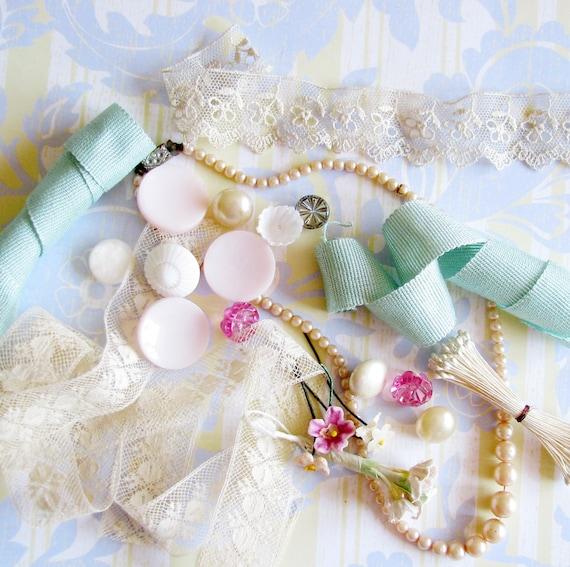Girly Sweet Treats...Lovely Trims & Yummy Adornments