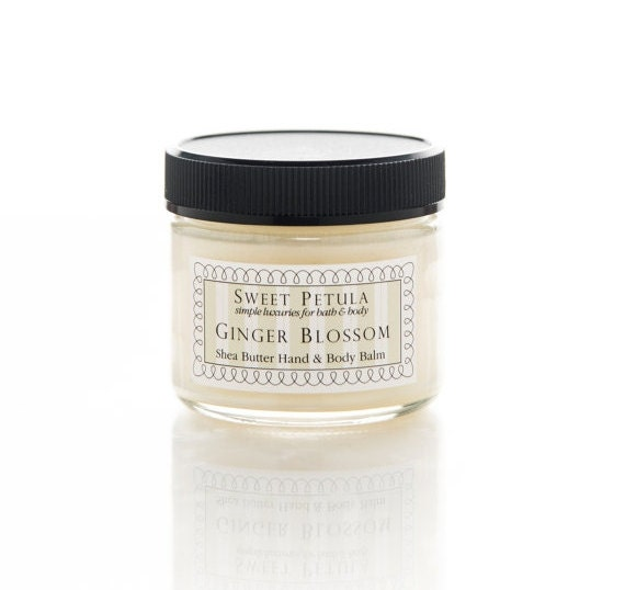 SALE - Shea Butter Hand & Body Balm - Ginger Blossom