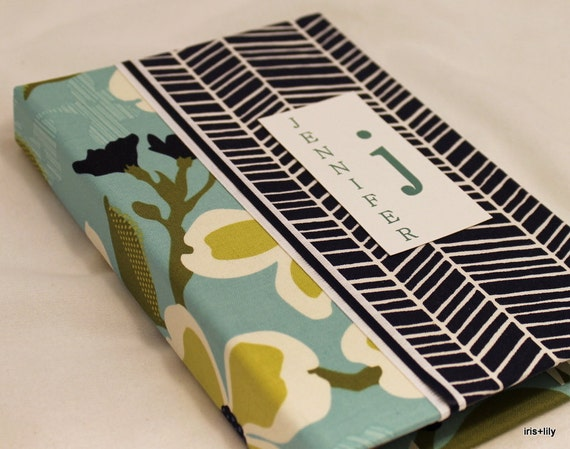 Nook, Nook Color, Nook Touch Case - Hardcover Book Style, Joel Dewberry Fabric, Hidden Magnet Close