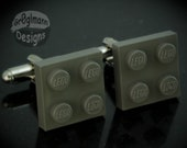 Cufflinks - made with LEGO bricks