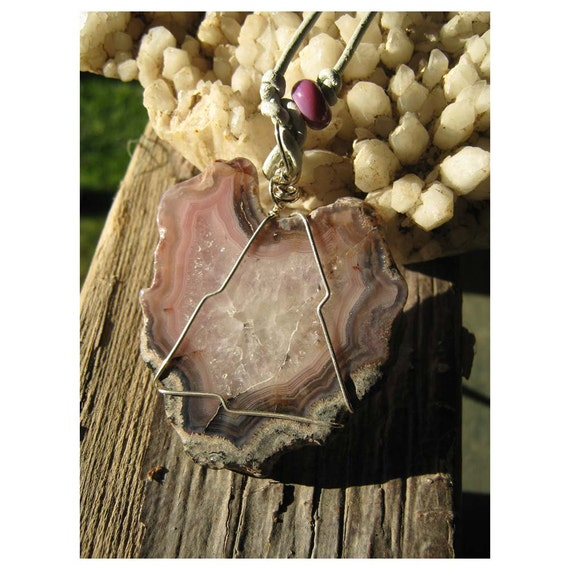 My Heart - Mexican Agate - Natural Stone