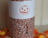 Halloween Divine Twine Baker's Twine bulk lot of 25 total yards - Orange, Black & White - Fall-Shipping 1.99 on this item-Limited Edition-