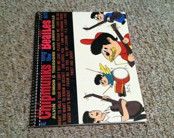 The Chipmunks Sing the Beatles Original Record Album Cover Notebook