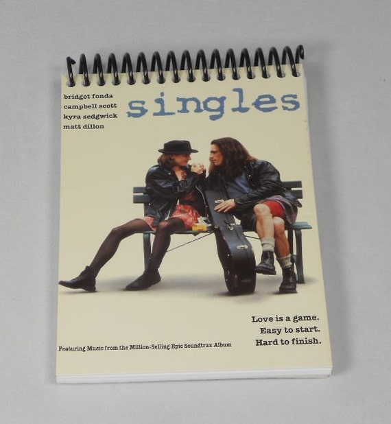 Singles Original VHS Cover Notepad