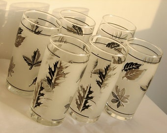 Set of 6 very SMALL Juice Glasses