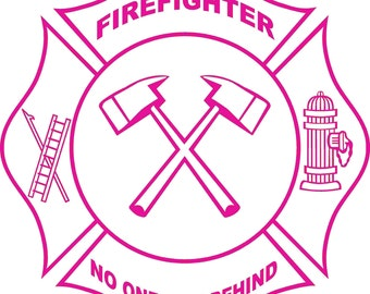 Real Women Love Firefighters - Decal - Free Shipping