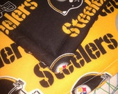 Pot Holders - Set of Two - Pittsburgh Steelers - Custom Order for BUNCHEE