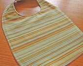 CLEARANCE SALE - Groovy Boy Stripe Eco-Friendly Baby/Toddler Bib