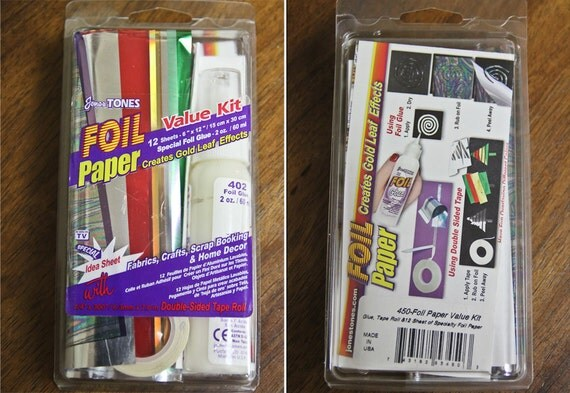 Foil Paper Kit, Scrapbooking,Supplies