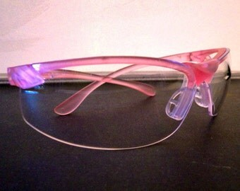 SAFETY GLASSES - Pink framed with fit optimized specifically for women from WonderStruck Studios