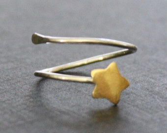 Follow The Star Adjustable Ring