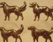 1960 Afghan Dog Pins