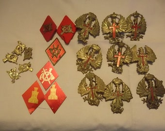 20-Piece 1940's Spanish Military Medals
