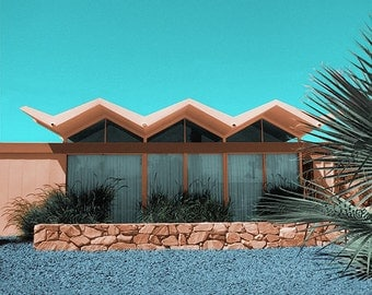 Steel House Palm Springs Dreamscape
