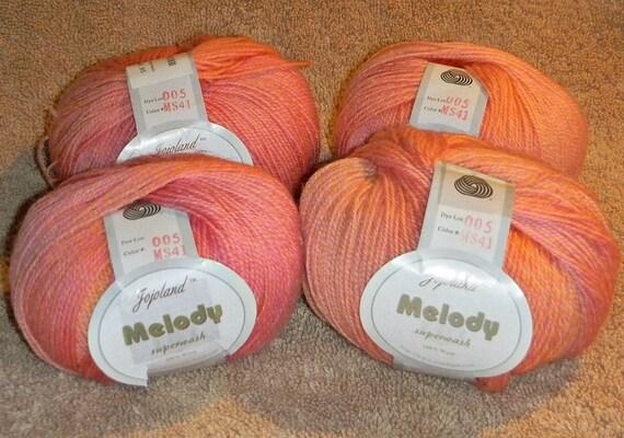 4 Balls of Jojoland Melody Superwash Wool
