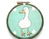 4 inch Duck Applique Machine Embroidery Hoop