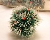 Puffs- Vintage Christmas Ornaments-