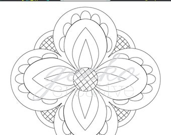 Embroidery Pattern: Fearsome4 PDF