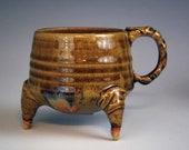 Leggy Amber Cup