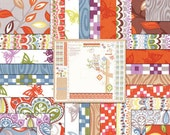 Baby Blanket  Modern Patchwork Infant Crib Blanket made with Serenade Collection designed by Kate Spain for Moda Fabrics
