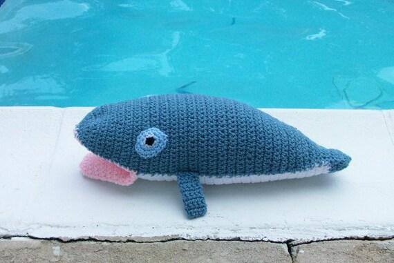 Whale Amigurumi Blue : Blue Whale Amigurumi Plush Toy by CoastalCrochetCrafts on Etsy