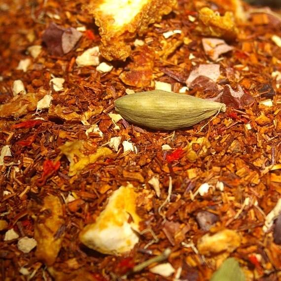 Chai Tea - Chocolate Orange Rooibos, Loose Leaf Tea, Rooibos Tea, Chai Tea
