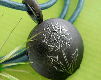 LOCKET DANDELION Sterling Silver - DANDI Picture Locket