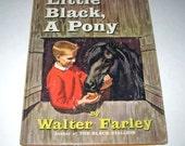 Little Black, A Pony Vintage 1960s Children's Beginner Book by Walter Farley