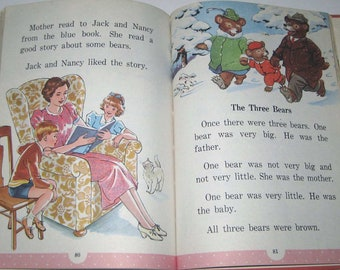 On the Way to Storyland Vintage 1940s Children's School Reader or Textbook Illustrated by Milo Winter