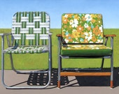Garden Chairs - limited edition archival print 49/100