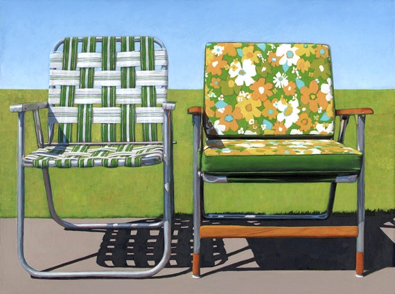 Garden Chairs - limited edition archival print 48/100
