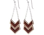 Double Chevron Earrings