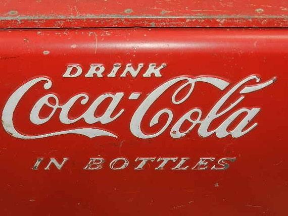 Coca Cola Retro 1950 Era Picnic Cooler Large For Tailgating Retro Party Time