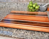 Cutting Board Wedding Gift - Personalized, Housewarming, Exotic Wood - FREE ENGRAVING