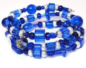Rapture... Beaded Wrap Bracelet