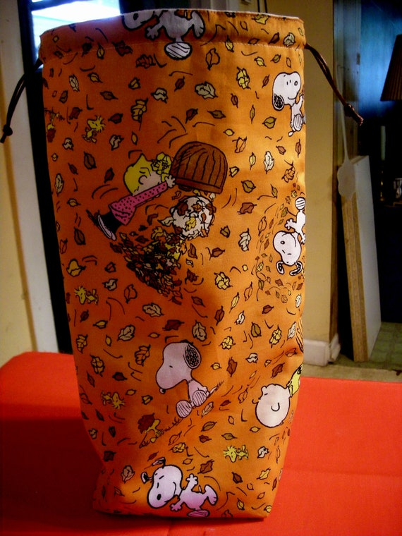 The Tall Project Bag  Snoopy and Friends   B - 91